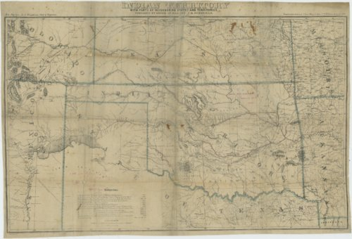Indian Territory, with parts of Neighborning States and Territories - Page