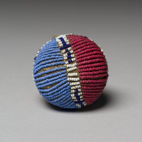 Beaded Buckskin Ball - Page