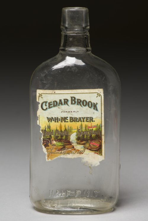 W. H. McBrayer's Cedar Brook Whiskey Bottle from the Shawnee Indian Mission, 14JO362 - Page