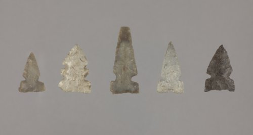 Side Notched Arrow Points from 14SA406, Saline County - Page