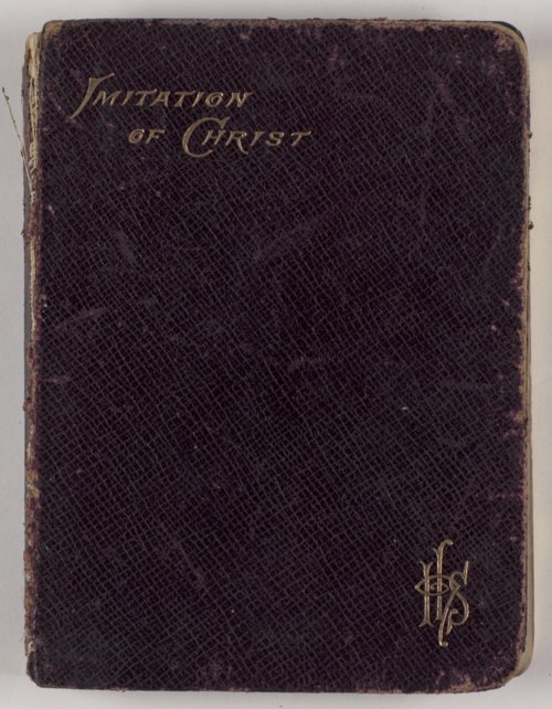 Carry Nation's copy of Of the Imitation of Christ - Page