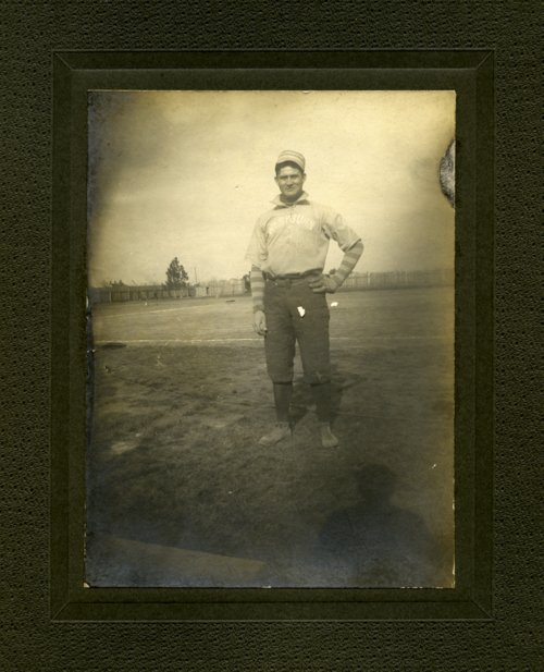 Warren Gill of the Washburn baseball team - Page