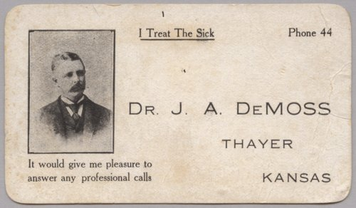 Trade card - Page