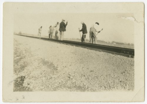Atchison, Topeka & Santa Fe Railway track workers - Page