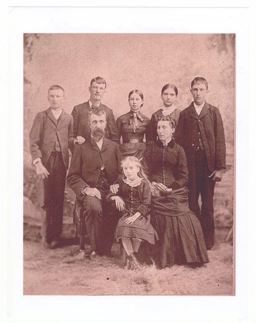 Samuel Judson Smith, Lucinda A. Gardner Smith and children - Page