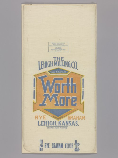 Lehigh Milling Company flour bag - Page