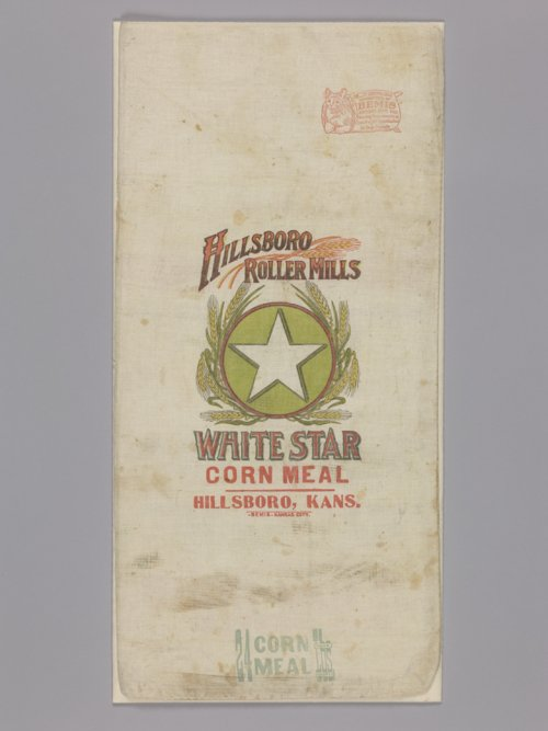 Hillsboro Roller Mills corn meal bag - Page