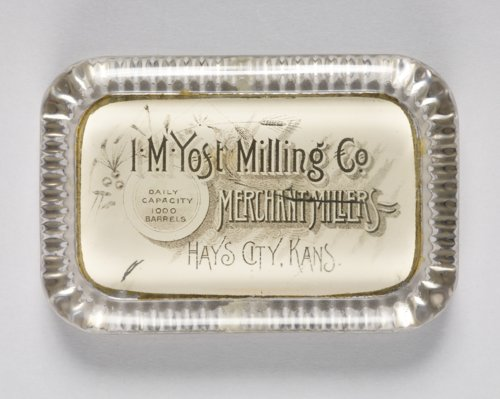 I.M. Yost Milling Company paperweight - Page