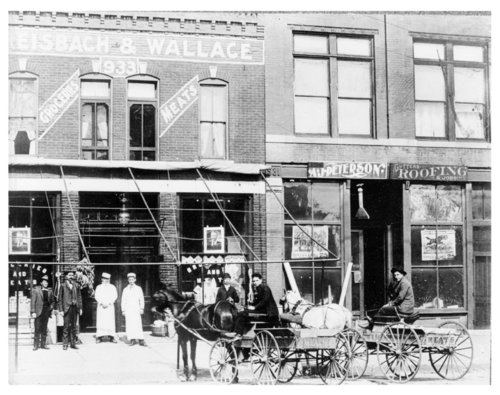Dreisbach and Wallace Grocery Store - Page