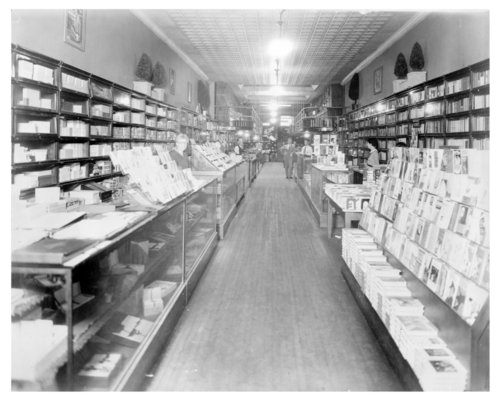 Hall's Book and Stationary Store - Page
