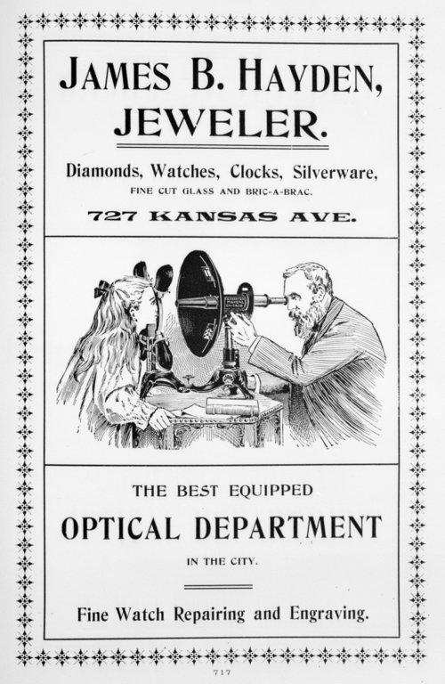 James B. Hayden, Jeweler - Page