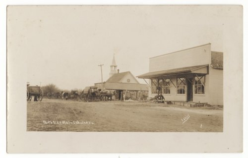 North side of Main Street, Aulne, Marion County, Kansas - Page