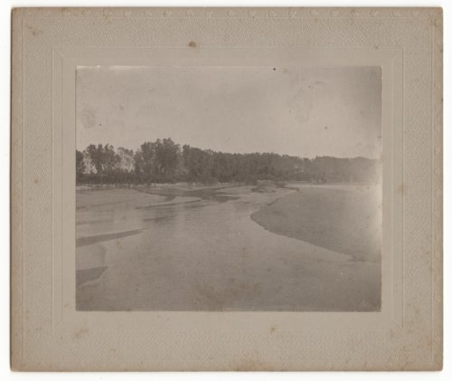 Arkansas River scene, Kansas - Page