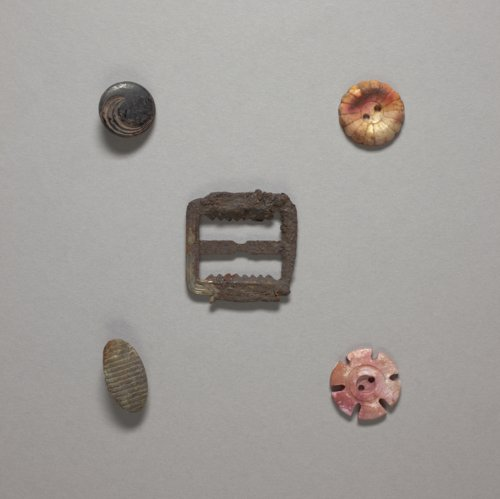 Buttons from a Child's Treasure Trove - Page