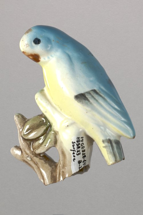 Parrot on a Branch from 14GE328 - Page