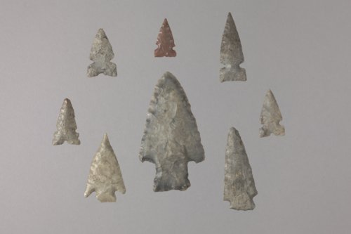 Projectile Points from 14SA409 - Page
