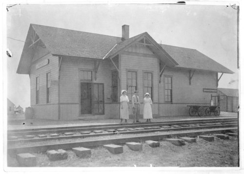 Union Pacific Railroad Company depot, Monument, Kansas - Page