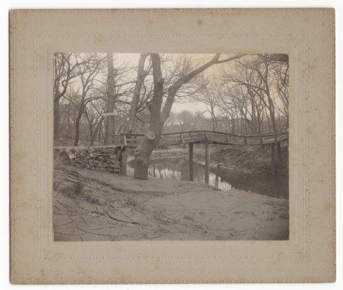 Foot bridge, Marion, Kansas - Page