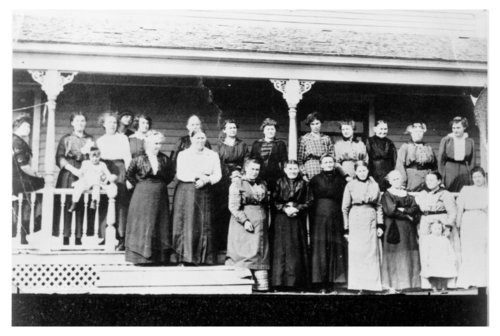 Koffee Klatch, a Frauenverein group in Thomas County, Kansas - Page
