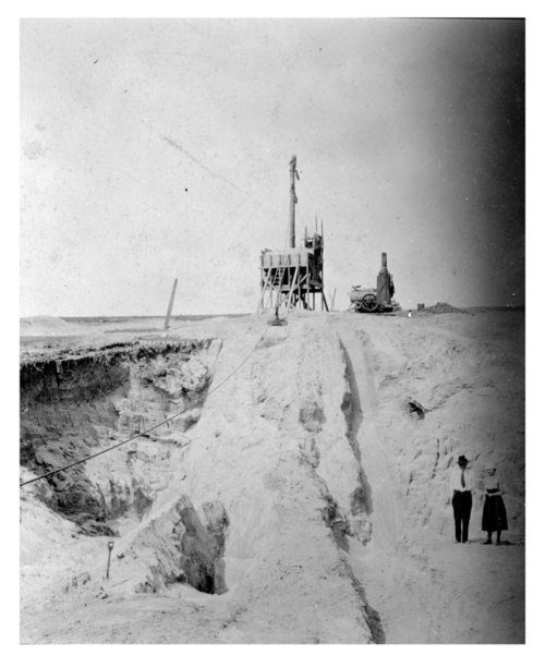 Sand pit, Thomas County, Kansas - Page