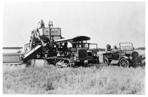 Wheat harvest, Thomas County, Kansas - Page
