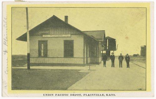 Union Pacific Railroad Company depot, Plainville, Kansas - Page