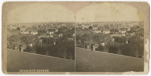 Bird's-eye view of Osage City, Kansas - Page