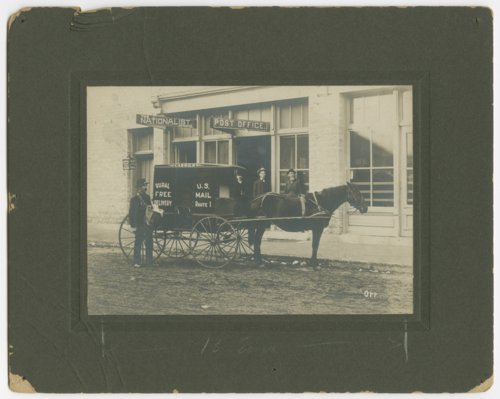 Post office, Manhattan, Kansas - Page