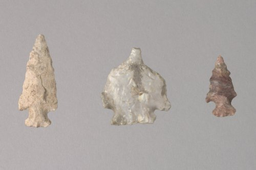 Projectile Points and a Drill from 14BO323 - Page