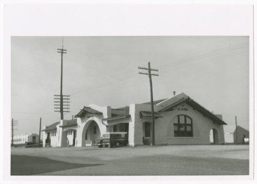 Atchison, Topeka and Santa Fe Railway Company depot, Kiowa, Kansas - Page