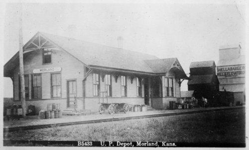 Union Pacific Railroad Company depot, Morland, Kansas - Page