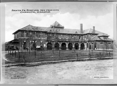 Atchison, Topeka and Santa Fe Railway Company depot, Chanute, Kansas - Page