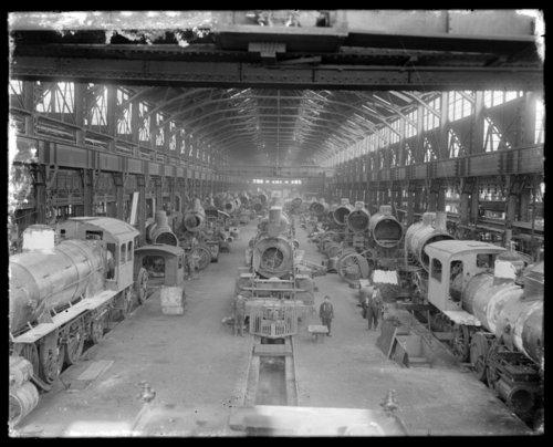 Atchison, Topeka & Santa Fe Railway shops in Topeka, Kansas - Page