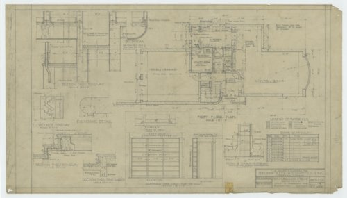 Nelson Antrim Crawford residence drawings - Page