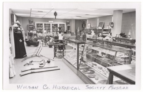 Wilson County Historical Museum exhibits, Fredonia, Kansas - Page