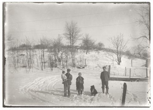 Snow scenes, Wilson County, Kansas - Page