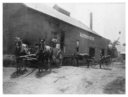 Altoona Ice Company, Wilson County, Kansas - Page