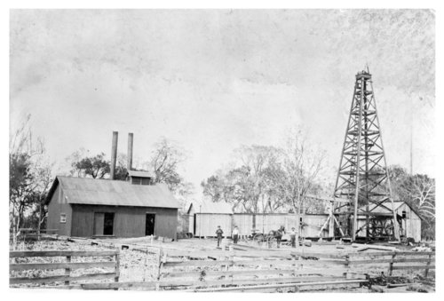 Oil derrick, Wilson County, Kansas - Page