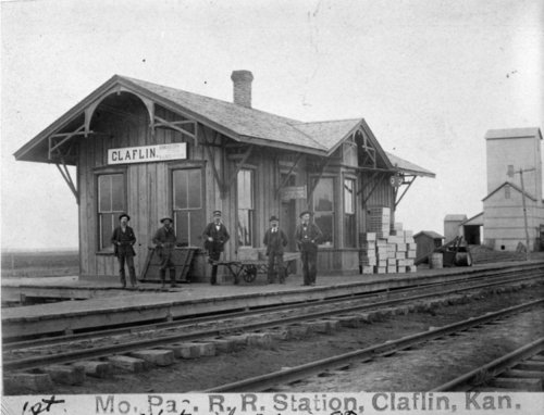 Missouri Pacific Railroad depot, Claflin, Kansas - Page