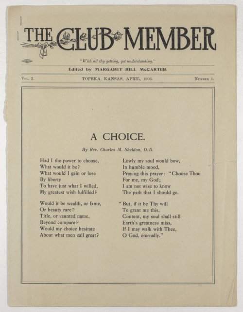General Federation of Women's Clubs of Kansas publications - Page