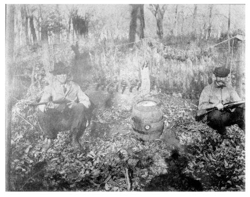 Hunting scene near Benedict, Wilson County, Kansas - Page