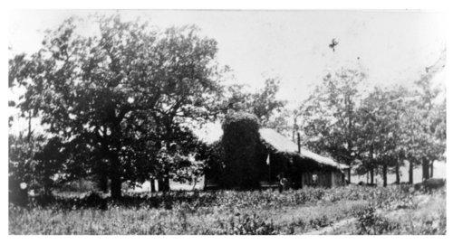 Highley log cabin near Neodesha, Wilson County, Kansas - Page