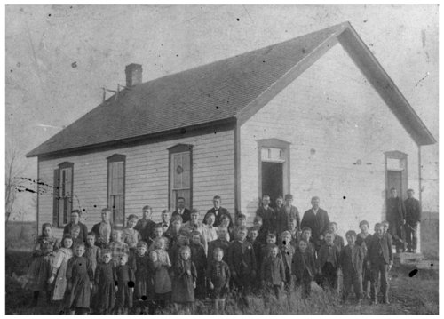 Student photo, Rainbow School, rural school no. 39, Wilson County, Kansas - Page