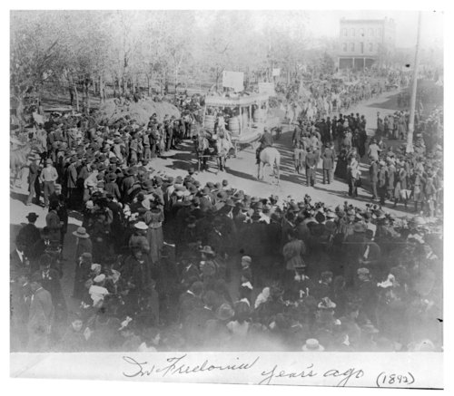 Scenes from a parade in Fredonia, Wilson County, Kansas - Page