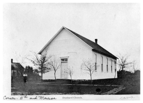 Dunkard church, Fredonia, Wilson County, Kansas - Page