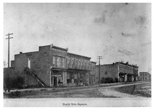North side of the town square, Fredonia, Wilson County, Kansas - Page