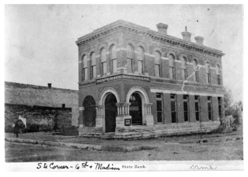 State Bank, 6th and Madison, Fredonia, Wilson County, Kansas - Page