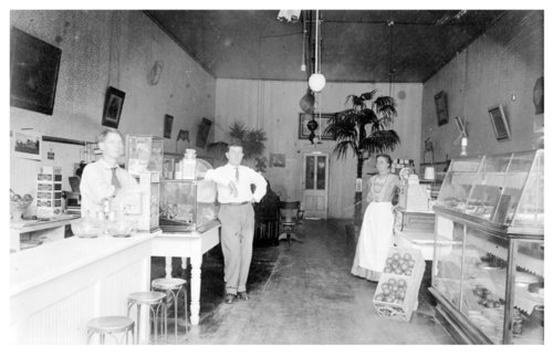 Interior view of a bakery, Fredonia, Wilson County, Kansas - Page