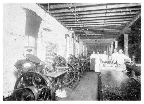 Kennedy Printing Company, Fredonia, Wilson County, Kansas - Page