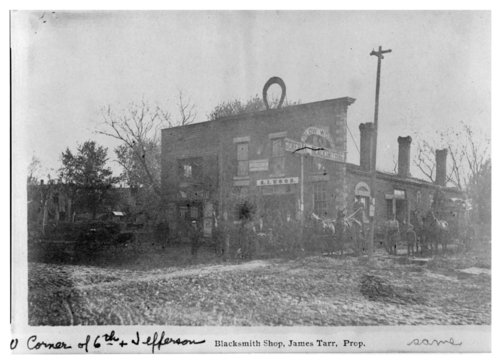 James Tarr's blacksmith Shop, Fredonia, Wilson County, Kansas - Page